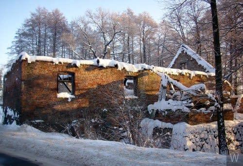 Stary młyn w Kozłowie